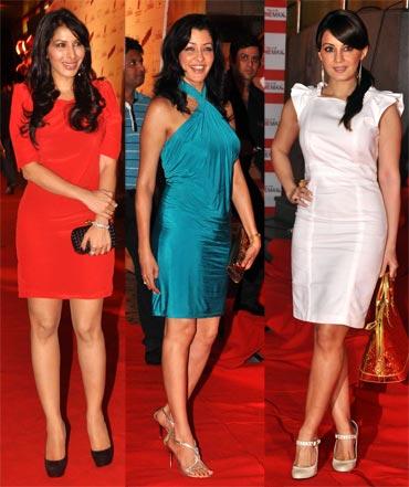 Sophie Chaudhary, Aditi Govitrikar and Minissha Lamba