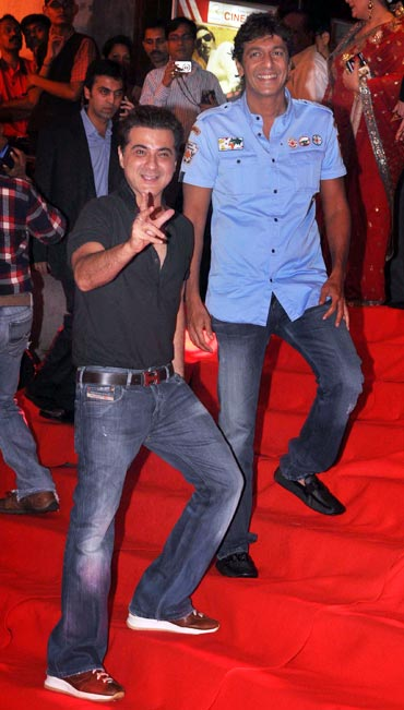 Sanjay Kapoor and Chunky Pandey