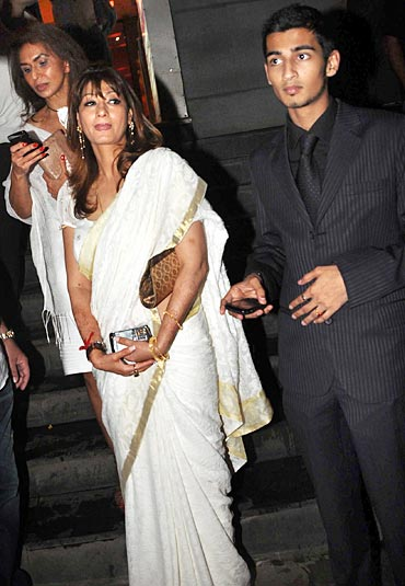 Sunanda Pushkar and Shiv Pushkar Menon.