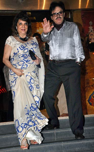 Sanjay Khan and Zarine Khan