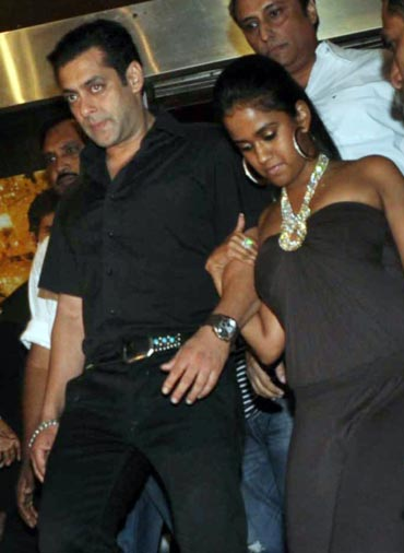 Salman Khan and Arpita Khan