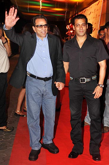 Dharmendra and Salman Khan