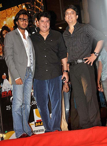Riteish Deshmukh, Sajid Khan and Sajid Nadiadwala
