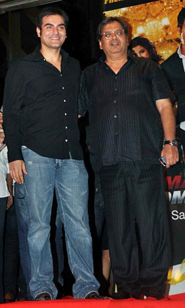 Arbaaz Khan and Subhash Ghai