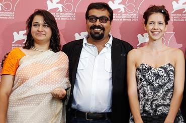 Puja Sarup, Anurag Kashyap and Kalki Koechlin
