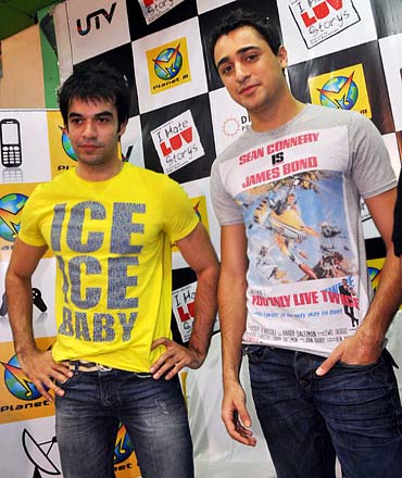 Puneet Malhotra and Imran Khan