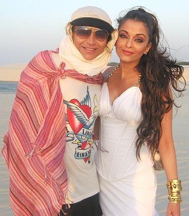 Ojas Rajani and Aishwarya Rai Bachchan