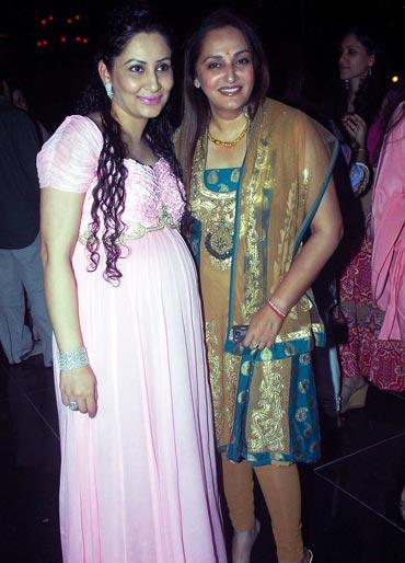 Manyata and Jaya Prada
