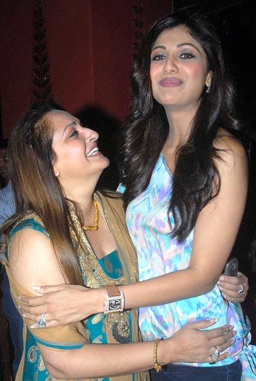 Jaya Prada and Shilpa Shetty