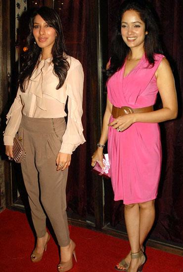 Sophie Choudhury and Vidya Malvade