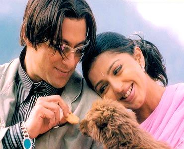 A scene from Tere Naam