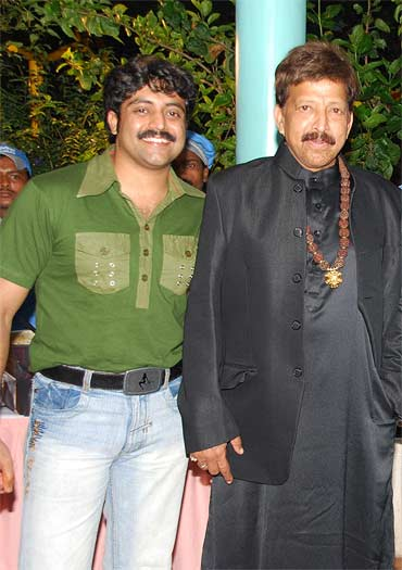 Anirudha and Vishnuvardhan