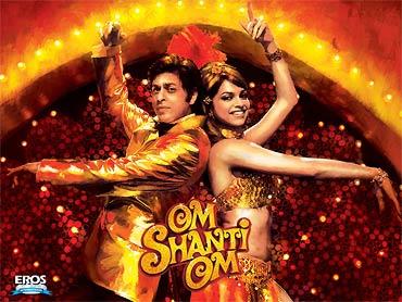 A scene from Om Shanti Om