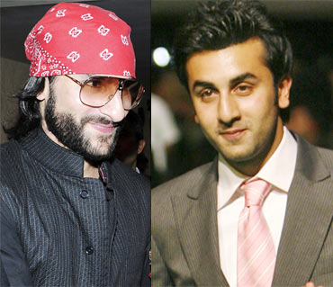 Saif Ali Khan and Ranbir Kapoor