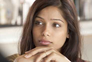 Freida Pinto in You Will Meet a Tall Dark Stranger