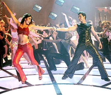 A scene from Kabhi Khushi Kabhie Gham