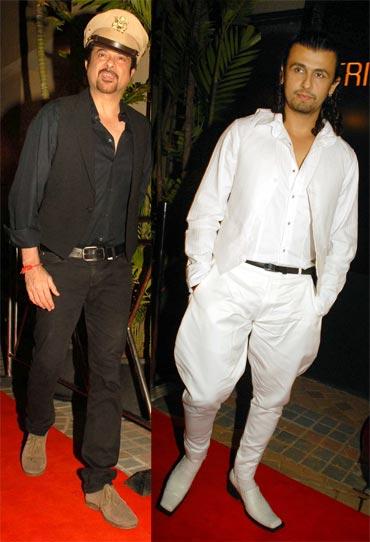 Anil Kapoor and singer Sonu Nigam