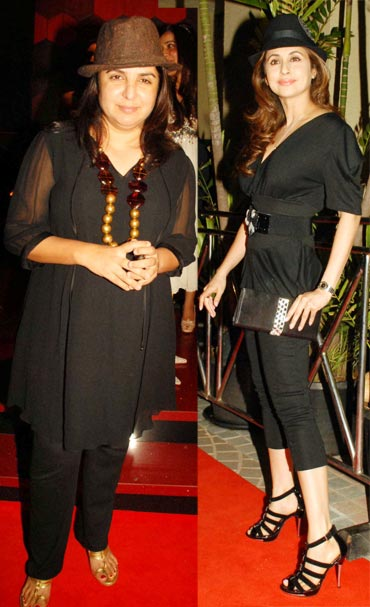 Farah Khan and Urmila Matondkar
