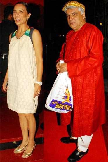 Adhuna and Javed Akhtar