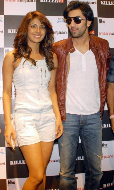 Priyanka Chopra and Ranbir Kapoor