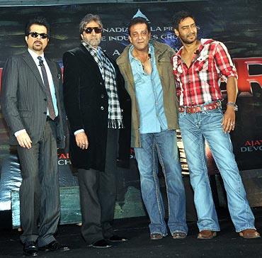 Anil Kapoor, Amitabh Bachchan, Sanjay Dutt, Ajay Devgn
