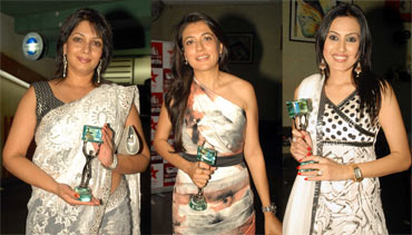 Aswari Joshi (Office Office), Mini Mathur (Indian Idol) and Kamya Punjabi (Astithva...Ek Prem...)