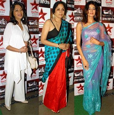 Simi Garewal, Neena Gupta and Pooja Batra