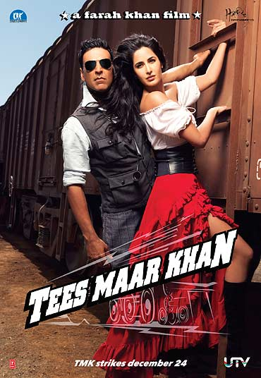 A poster of Tees Maar Khan