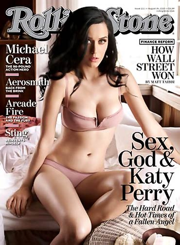 Katy Perry on the cover of Rolling Stones