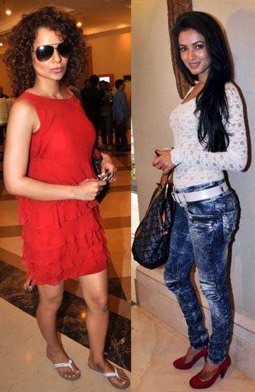 Kangna Ranaut and Sonal Chauhan