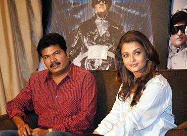 Shankar and Aishwarya Rai Bachchan