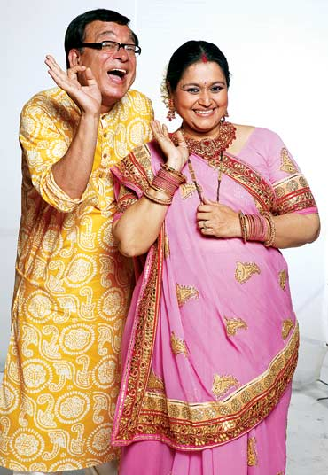 Rajeev Mehta and Supriya Pathak