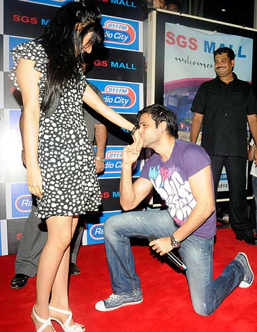 Neha Sharma and Emraan Hashmi
