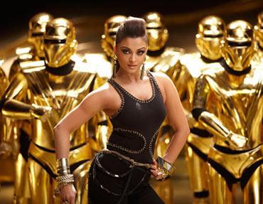 Aishwarya Rai Bachchan on Robot