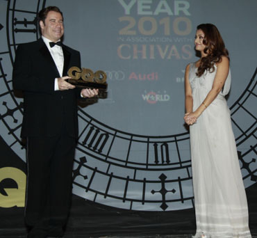 John Travolta and Aishwarya Rai Bachchan