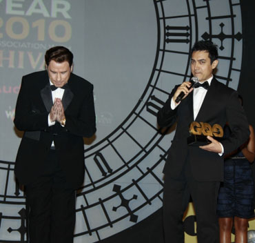 John Travolta and Aamir Khan