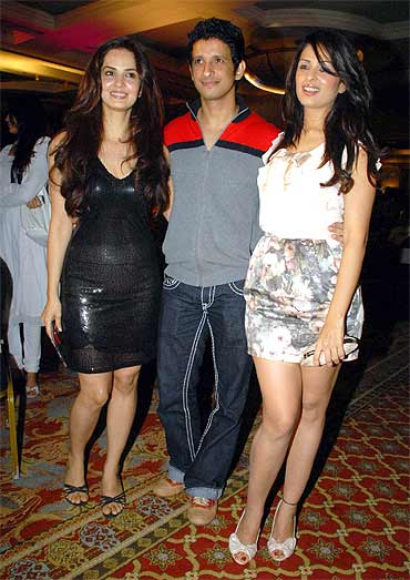 Rukhsar, Sharman Joshi and Anjana Sukhani