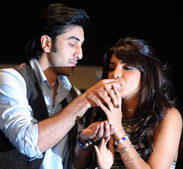 Ranbir Kapoor and Priyanka Chopra