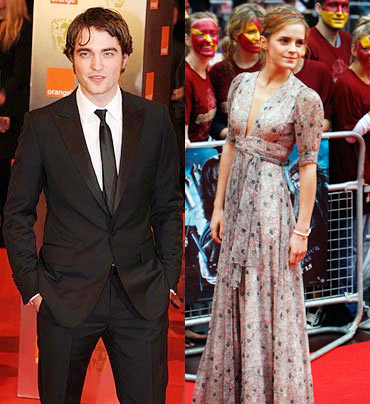 Robert Pattinson and Emma Watson