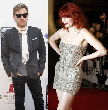 Ewan McGregor and Florence Welch