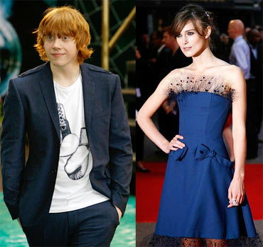 Rupert Grint and Keira Knightley