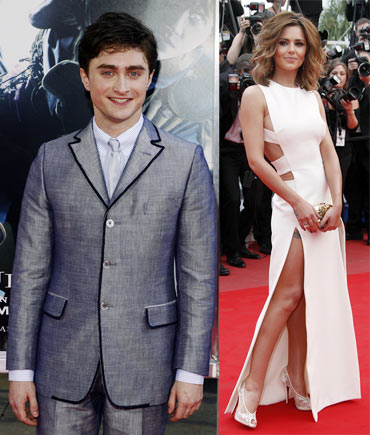 Daniel Radcliffe and Cheryl Cole