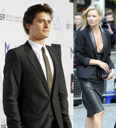 Orlando Bloom and Kate Moss
