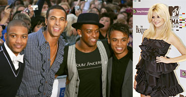 JLS and Pixie Lott