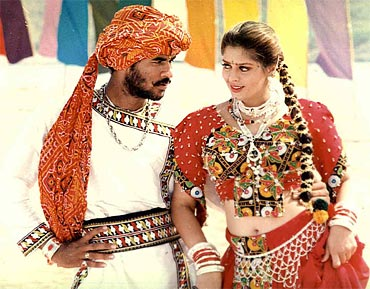 A scene from Kaadhalan