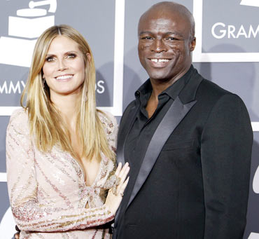 Seal and Heidi Klum
