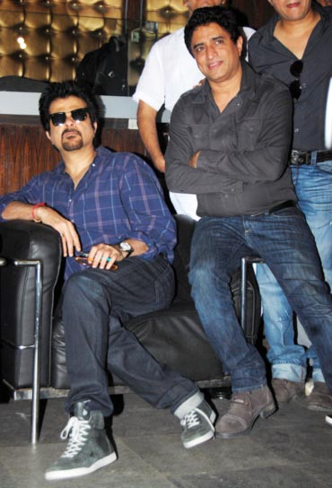 Anil Kapoor and Anand Raj