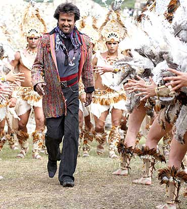 Rajni in technicolour