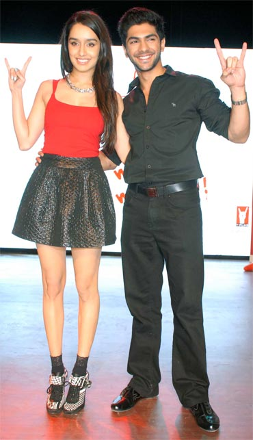 Shraddha Kapoor and Taaha Shah