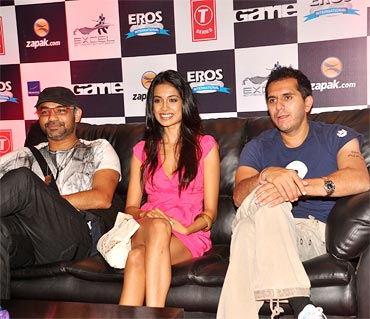 Abhinay Deo, Sarah Jane Dias and Ritesh Sidhwani